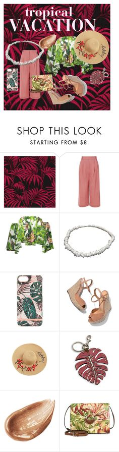 """""""Tropical Vacation #224"""" by i-sunshine ❤ liked on Polyvore featuring TIBI, Richmond & Finch, Schutz, Valentino, Jouer and Patricia Nash"""