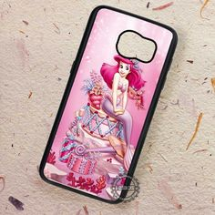 Pink Ariel The Little Mermaid - Samsung Galaxy S7 S6 S5 Note 7 Cases & Covers