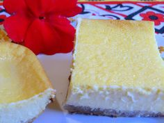Bake for the full 45 minutes to get a golden top and slightly firmer texture SPANISH FLAN SQUARES My husband loves this reci. Paleo Desert Recipes, Healthy Recipes, Healthy Desserts, Mexican Food Recipes, Low Carb Recipes, Dessert Recipes, Free Recipes, Healthy Food, Low Carb Deserts