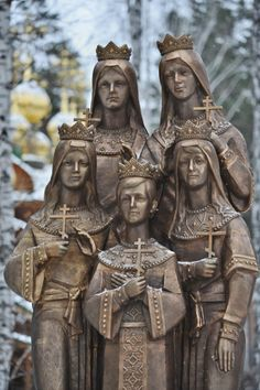 Russia's first monument to the children of Emperor Nicholas II