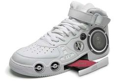 Musical Shoes: The Gangster CD Stereo Sneaker Plays Your Favorite ........ i want them