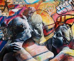 PICHI AVO Canvas Art Pichi Avo Pinterest Art Art And - Beautiful giant murals greek gods pichi avo