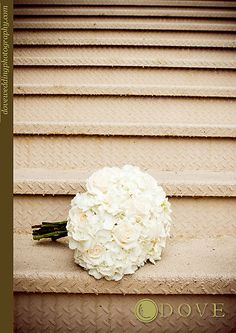 Hydrangea, garden rose and gardenia bouquet. maybe some baby's breath and miniature light pink ro love love