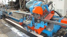 Nirmal overseas is providing you best manufacturing of Cold saw cutting car. Burr-free cutting is used to cut the pipe as the name is suggested. Basically, Cold saws cutting car is used to provide a required and perfect cut at the end of the pipe with no burr.