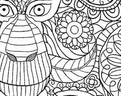 The Macmillan Jungle Book Colouring Free Monkey Pattern Download