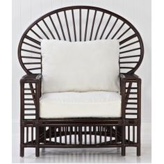Raffles Chair - modern take on Hawaiian style. Love!