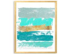"""Shades of the Sea"" PRINTABLE Art, $4.95"