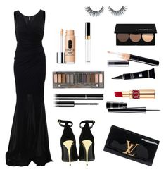 """Untitled #69"" by electraz on Polyvore featuring Blumarine, Balmain, Louis Vuitton, Chanel, MAC Cosmetics, Yves Saint Laurent, Urban Decay, Dermablend, Clinique and Mary Kay"