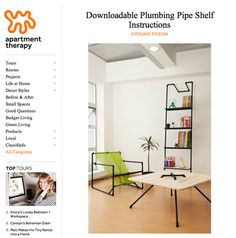 pipe furniture how to!