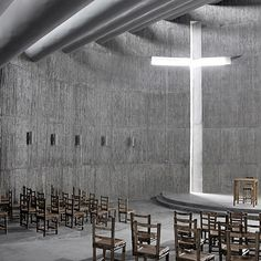 Church of Seed by O Studio Architects.  Hong Kong firm O Studio Architects have completed a stark concrete church on the side of a sacred mountain in China.