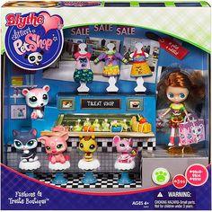 Littlest Pet Shop Blythe Treat Shop - Walmart.com