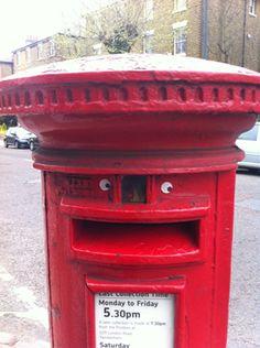 Happy eye bombing postbox :-)