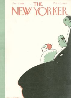 The New Yorker - Saturday, January 9, 1926 - Issue # 47 - Vol. 1 - N° 47 - Cover by : Hans Stengel