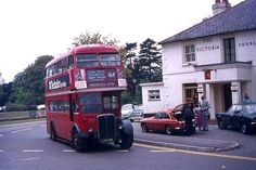 RT Rt Bus, Routemaster, Buses And Trains, Double Decker Bus, Bus Coach, London Bus, London Transport, Old Street, Diesel Locomotive