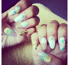 Ice cream nails - es nails in LA | I'm lucky that I live by es nails, it's the only place I'll go!