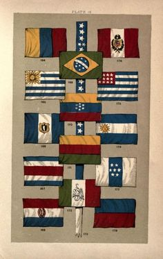 Amérique latine Union Jack, Flag, America, Quilts, Country, Travel, Latin America, Latin Dance, Chart