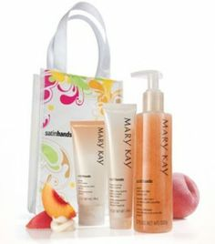 Mary Kay Satin Hands set is a must have for me in the winter because my hands crack and dry way out.  This fixes it!