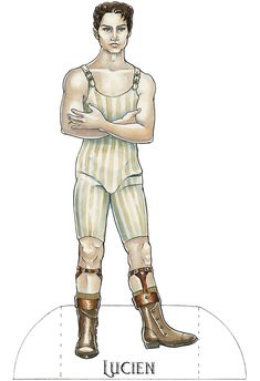 From Steampunk Paper Dolls  Another Great Cheap Thrill From