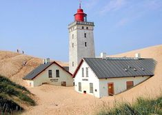 Sand comes - Pixdaus Denmark House, Lighthouse Lighting, Beacon Of Light, Copenhagen Denmark, Water Tower, Provence, Around The Worlds, Lighthouses, Mansions