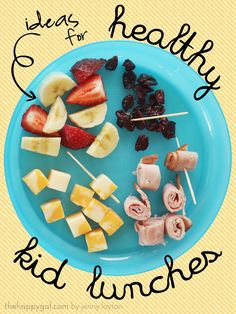 Ideas for healthy lunches for kids
