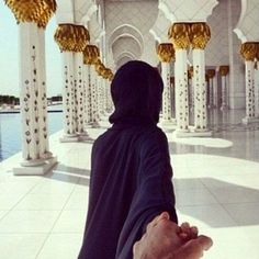Hand In Muslim Couple