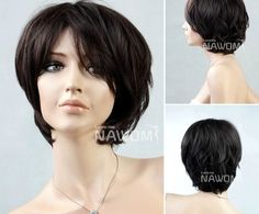 best selling wigs office ladies wigs short brown wigs for women girls wig european women wigs hot stylish wig by Annie. $49.99. Fiber:The roots of the synthetic hairs are carefully tied to the cap with precision and care. This ensures that the synthetic hair always has volume.. Size:This Wig comes with a one size fits all, thanks to the elastic strap. This provides additional comfort, as well as confidence.. Cap:Thanks to the high quality cap(made in korea), you will n...