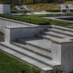 Bluestone Stairs - modern - Landscape - San Francisco - Terra Ferma Landscapes