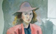 Ragazza seduta con cappello – 1941