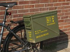 Ammo Boxes For Panniers Iron Horse Coatings would match your can to your bike.