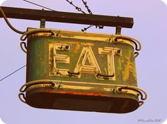 EAT by Vintage Roadtrip, via Flickr A framed print of this in the kitchen would be cool.