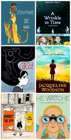 Nice list of 30 empowering books for girls at Timbuktu blog