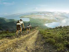 Mountain Biking from the top of the world. Travel Destinations Bucket Lists, Monte Kilimanjaro, Travel Outfit Summer Airport, Kayak, Sports Wallpapers, Desktop Wallpapers, Mac Desktop, Lofoten, Akita