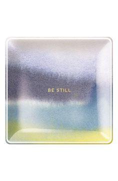 Fringe Studio 'Be Still' Glass Trinket Tray available at #Nordstrom