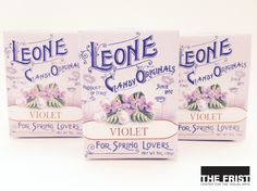 Get a taste of Italy with Pastiglie Leone candies, an iconic Italian candy since 1857. Flavors like Violet, Ginger, and Coffee, are made in the classic Italian tradition. The lingering flavors of these colorful, scented candies come in boxes small enough for a child's hand! Try the fresh Violet for spring lovers, or the Ginger for a hint of the Orient.  Pick up a box in the Frist Center's Gift Shop and see for yourself!