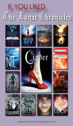 If you loved The Lunar Chronicles, check out these 12 other books/series to fill the void now that the series is over!