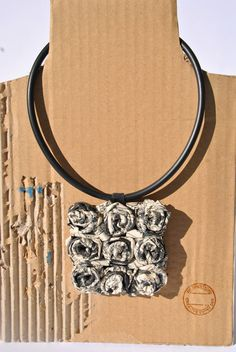 Caoutchouc necklace medallion Tex Willer cartoon di comivishop €28,00