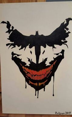 Awesome ink blot artwork