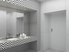Sala de banho - Projeto de reforma por Viviane Gobbato Arquitetura. Modelagem e Renderização por Anna-Beatriz Aflalo | Arquitetura e Design