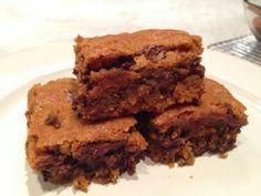 Pumpkin Chocolate Chip Bars by skibootsinthekitchen #Bars #Pumpkin #Chocolate_Chip
