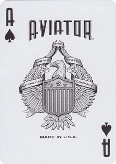 AVIATOR® Heritage Ed. Playing Cards