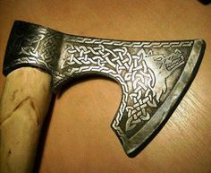 Viking axe. For more Viking facts please follow and check out www.vikingfacts.com don't forget to support and follow the original Pinner/creator. Thx