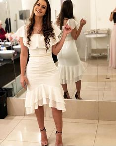 Swans Style is the top online fashion store for women. Shop sexy club dresses, jeans, shoes, bodysuits, skirts and more. Prom Dresses With Sleeves, Backless Prom Dresses, Homecoming Dresses, Wedding Dresses, Dinner Gowns, Mermaid Evening Dresses, Dress For You, Fashion Dresses, White Dress