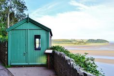 Oh to have a little printing shed like Dylan Thomas's Writing Shed,,,