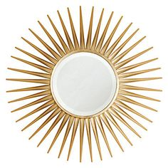 Rey Mirror - Gold | Mirrors | Mirrors-wall-decor | Decor | Z Gallerie