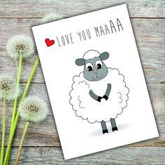 Happy Birthday Maa Humerous Handmade Card For Mom Purple