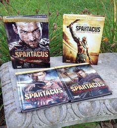 SPARTACUS THE COMPLETE SERIES DVD 4 SEASONS