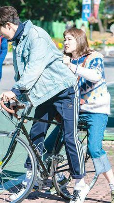 Korean Drama Movies, Korean Actors, Korean Dramas, Weightlifting Fairy Kim Bok Joo Wallpapers, Weightlifting Kim Bok Joo, Weighlifting Fairy Kim Bok Joo, Nam Joo Hyuk Lee Sung Kyung, Kim Book, Swag Couples