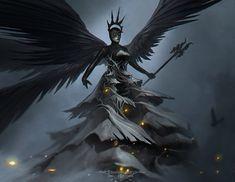 Dark Angel update by ramsesmelendeze on DeviantArt Ramses, Angel Warrior, Angels And Demons, Dark Angels, Knight Armor, Fantasy Inspiration, Character Inspiration, Dark Beauty, Magical Girl