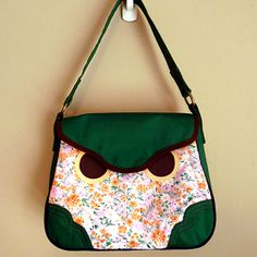 Hoot The Owl Bag (Vintage Tangy Blossoms)