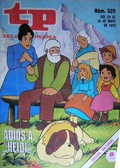 """MANGA CLASSICS - Portadas de guías de TV con """"Heidi"""" - Manga Classics"""